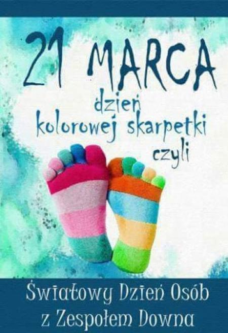Światowy Dzień Zespołu Downa 21 marca