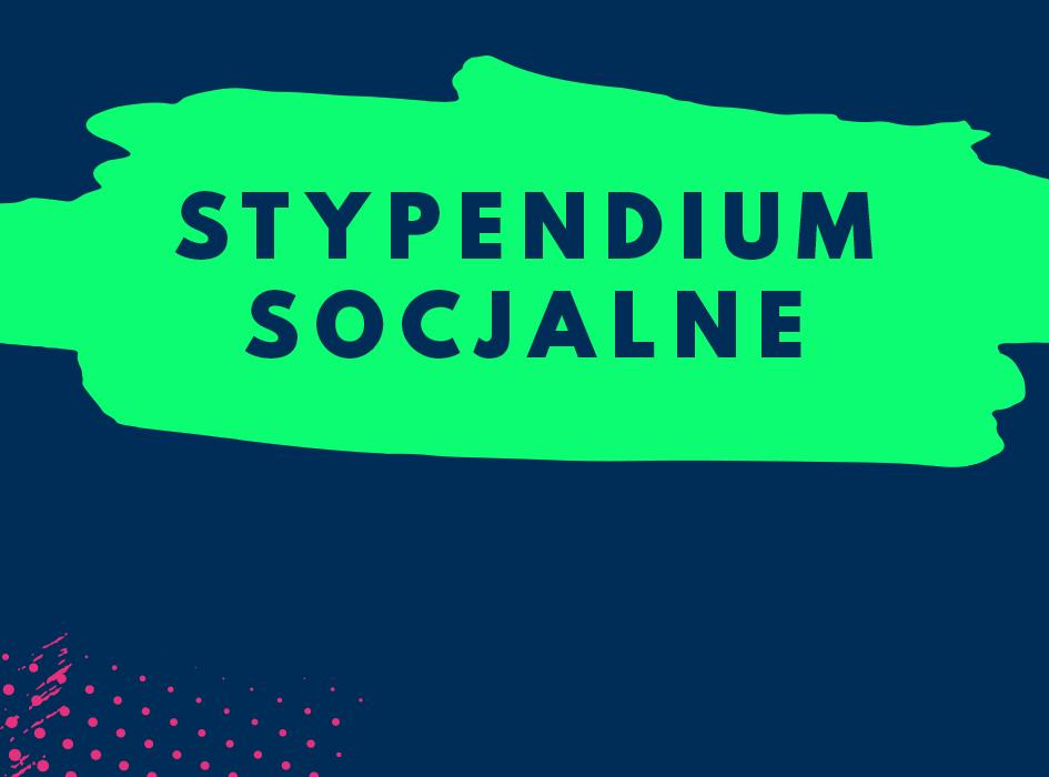 Stypendia socjalne