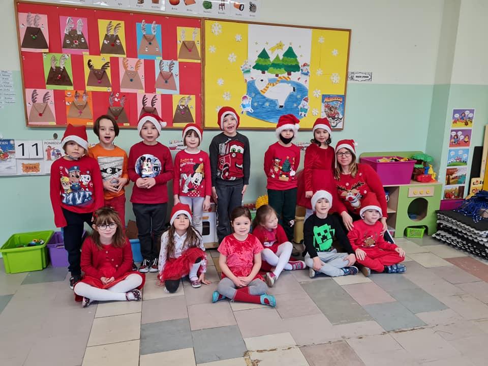 Wizyta Świętego Mikołaja u przedszkolaków