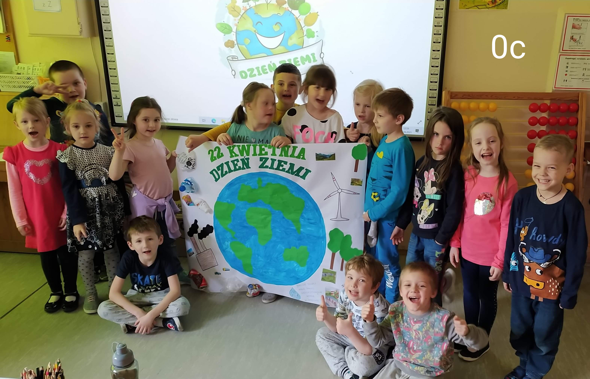 22 kwietnia- Dzień Ziemi w zerówkach