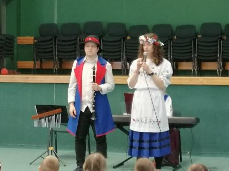 Koncert bajkowy w oddziałach przedszkolnych
