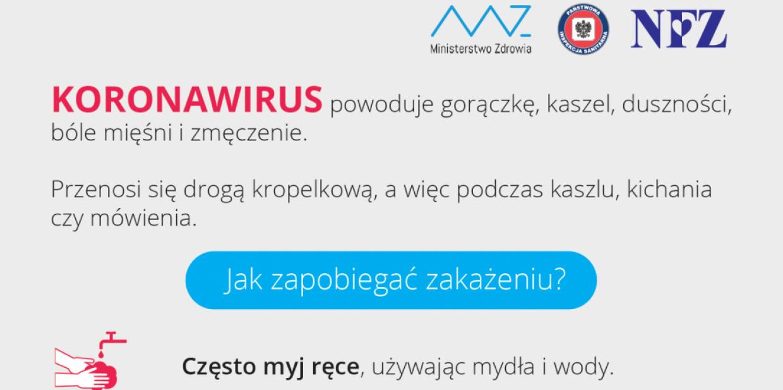 Koronawirus - jak zapobiegać zakażeniu?